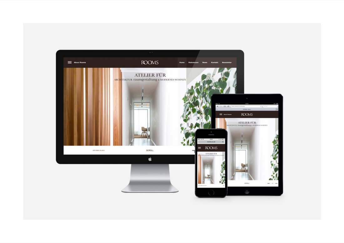 Rooms - Digital Design (Web/Multimedia) - Die Agentur Lux
