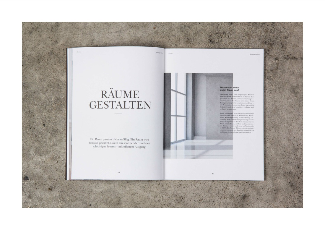 Rooms - Print Design - Die Agentur Lux
